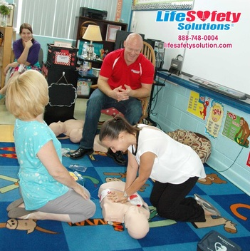 Life Safety Solutions First Aid, CPR AED Training