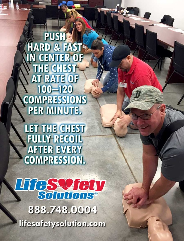LSS First Aid CPR AED Training